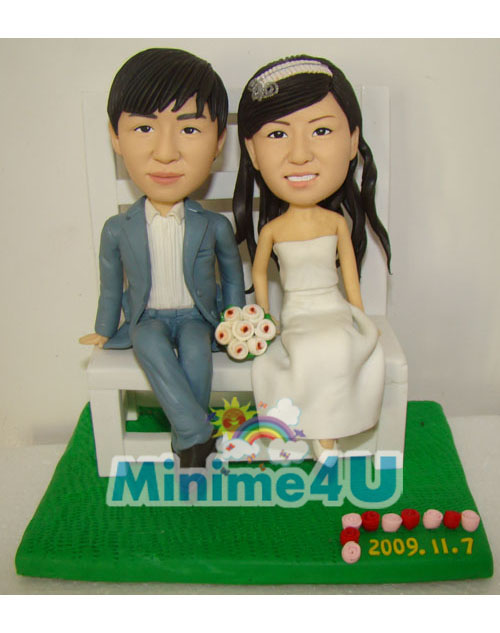 Happiness couple minime doll