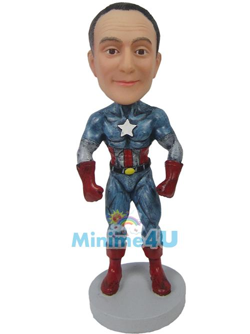 american captain figure