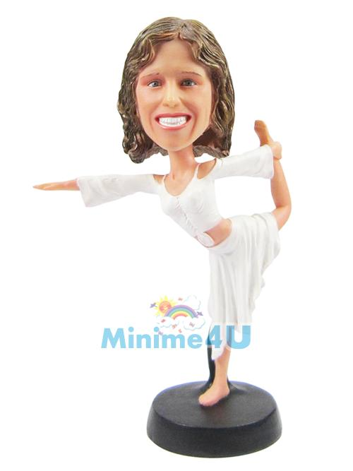 yoga customized figure