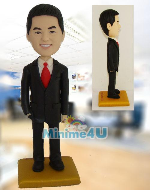 office man figurine