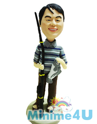 Fishman style mini me doll