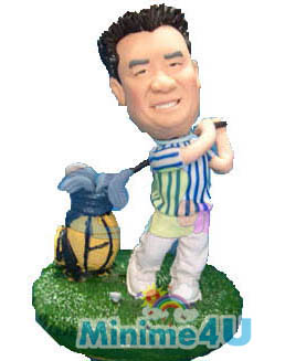 Golf figurine template