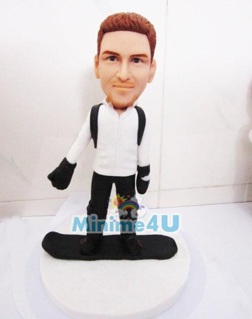 snowboard custom figure