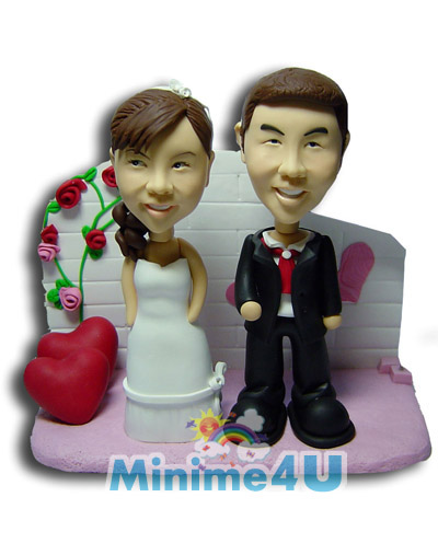 Sweet couple with sweetheart template