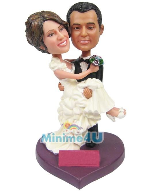 sweet couple wedding topper