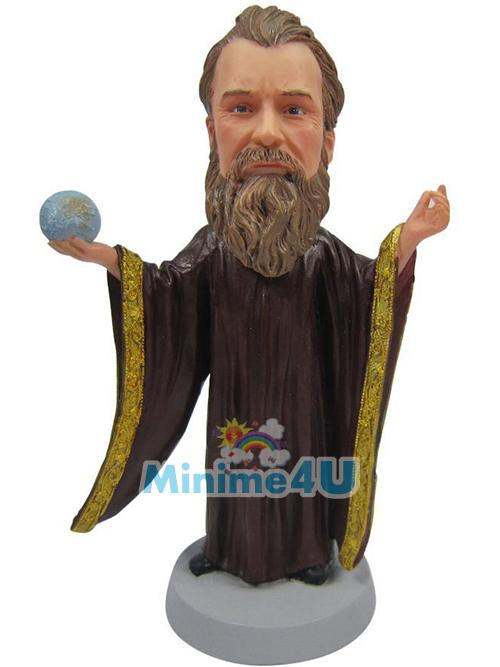 wizard custom mini me figure